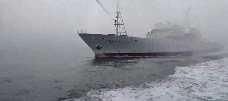 無理驅離、嚴重抗議:對日本水產廳船艦驅趕我國漁船的強烈譴責
