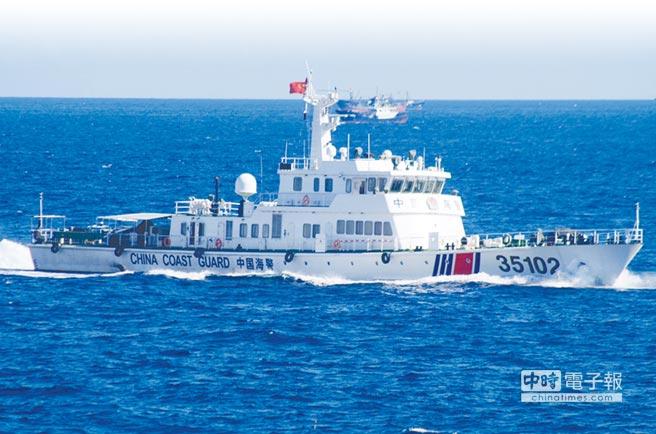 陸海警船、數百漁船 進逼釣魚台 2016/08/07