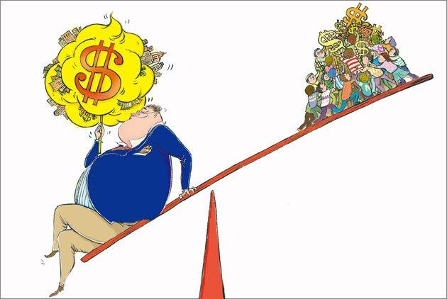 樂施會報告:8大首富資產等於全球半數人口財富