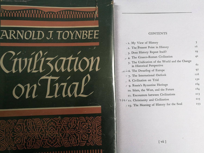 70年後重讀湯恩比《Civilization On Trial》 — 看中華文明復興與未來世局