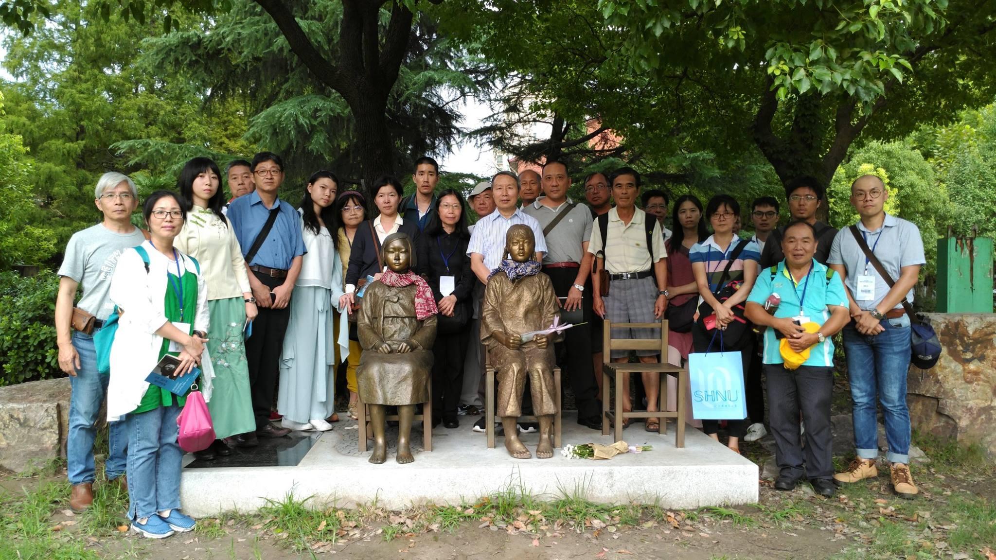 親臨南京上海歷史現場 上了震撼教育的一課
