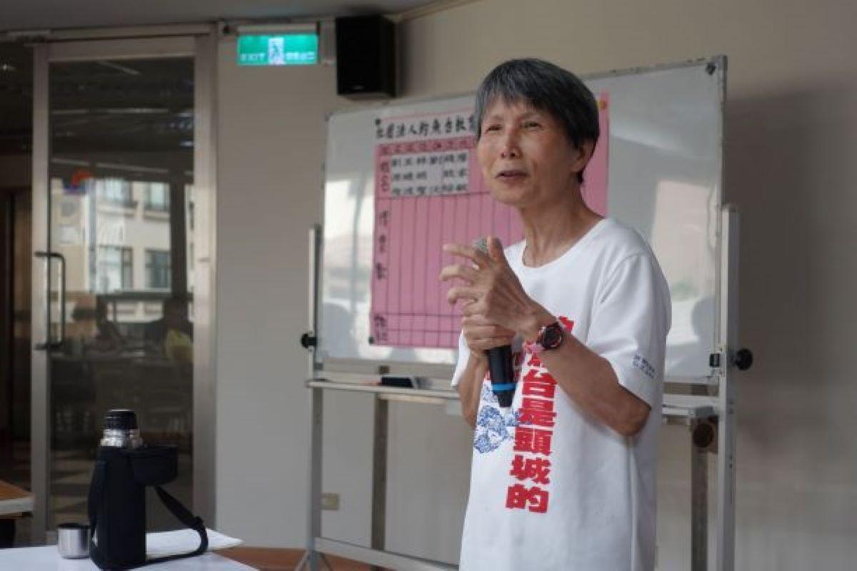 第二屆理事長陳美霞給會員的一封信:有關會員大會及捲起袖子展現武功